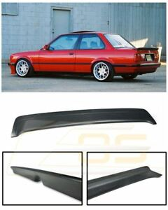 M tech 1 Style Rear Trunk Lid Wing Spoiler Kit For 85 91 Bmw E30 3 series