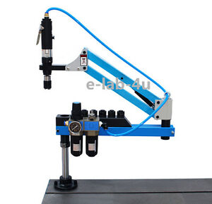 Universal Flexible Arm Pneumatic Air Tapping Machine 360 Angle 1000mm M3 m16 D