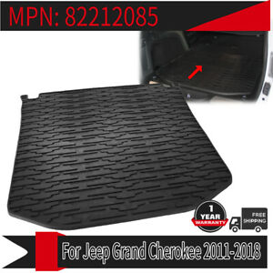 For 2011 2018 Jeep Grand Cherokee Cargo Liner Floor Mats Waterproof Rubber Trunk