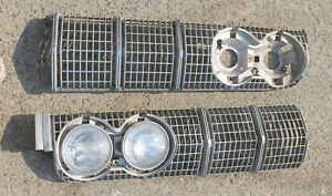 1964 Lincoln Grille Grill Pair S