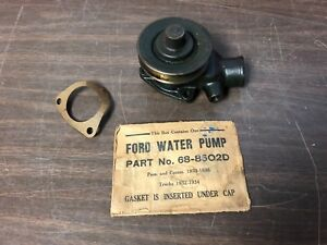 1932 1933 1934 1935 1936 Ford Flathead V8 85hp Lh Or Rh Water Pump Nors 119