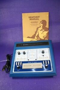 Vintage Heathkit Electronic Design Experimenter Model Et 3100 Manual Included