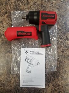 New Snap on 1 2 Drive Air Impact Wrench Pt850 With Boot
