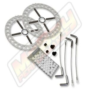 Hunter Alignment 14 Steel Turn Plate Table Repair Rebuild Kit With Lock Pins