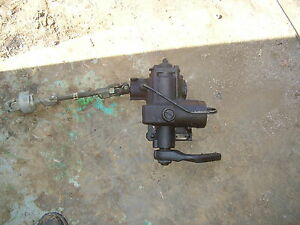 Land Rover Discovery 2 Power Steering Gear Box W Steering Shaft Oem 99 04