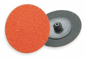 Norton 2 Coated Quick Change Disc Tr Roll on off Type 3 50 Coarse Ceramic
