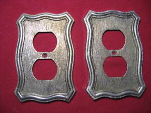 Two Vintage American Tack And Hardware Outlet Covers
