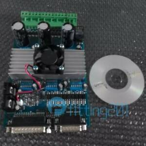New 3 Axis Cnc 3 5a Router Tb6560 Stepper Motor Driver Board Controller