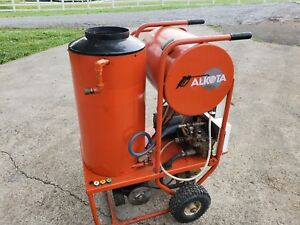 Used Alkota 4182 Hot Water Electric Diesel 4gpm 1800psi Pressure Washer