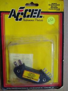 Accel 35363 Hei Ignition Control Module Gm 6 8 Cyl 1980 To 1995 7 Pin