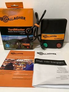 Gallagher Yardmaster Electric Horse Fence Charger Energizer Free Shipping