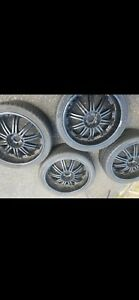 22 Inch Black Rims With Tires 5x120
