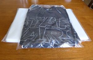 1000 9 X 12 Poly Clear Plastic T shirt Apparel Bags 1 Mil 2 Flap Lock