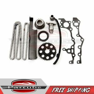 Fits 92 93 94 Toyota Previa Dohc 2tzfe Engine Timing Chain Kit 2 4l