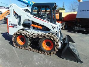 2015 Bobcat S 770 Turbo High Flow Aux both Wheel Tracks Self Leveling Bucket