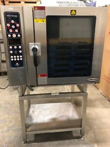 Alto Shaam 10 18 esi Combitherm Combination Combi Oven W Stand Works Great