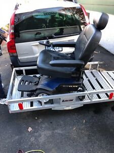 Ultra tow Aluminumfolding Cargo Carrier With Drop down Ramp