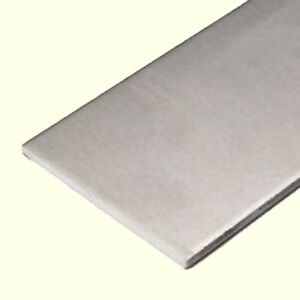 Aluminum Bar Flat Stock 1 8 Thick X 4 Wide X 6 Long Unpolished Finish New