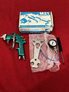 New Kremlin M21 Vlp Pressure Paint Spray Gun Binks Devilbiss