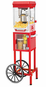 New Popcorn Machine Movie Theater Room Maker Vintage Style Us
