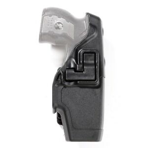 Blackhawk Police Duty Left Hand Holster For The Taser X2 Kydex Black
