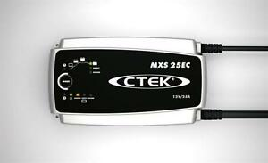 Ctek Battery Charger Mxs 25ec 250 Amp 8 Step Fully Automatic Charger 40 128