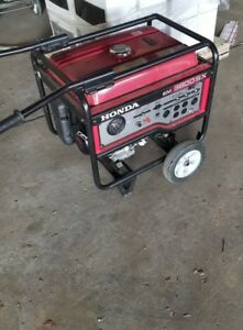 Honda Em3800sx Portable Generator Honda Gas Engine