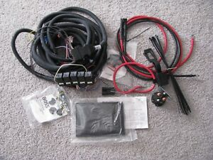 Boss Snow Plow 13 Pin Harness Complete Vehicle Side Main Wiring V Plow Msc08001