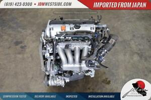 Jdm 2003 2007 Honda Accord 2 4l I Vtec Engine 03 06 Element K24a Motor