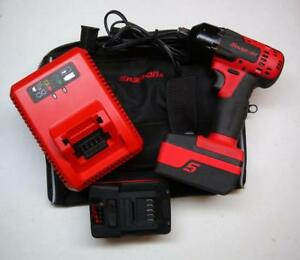 Nice Snap on 18v Monsterlithium 1 2 Drive Cordless Impact Wrench Kit Ct8815a