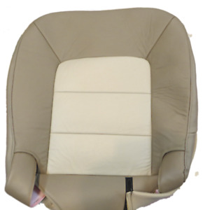 03 06 Ford Expedition E Bauer Utility Passenger Bottom Leather Seat Covertan
