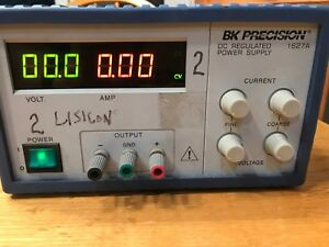Bk Precision Regulated Dc Power Supply 0 30 Vdc 0 3 Adc