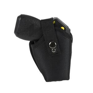 Taser Black Leather Ejection Holster Fits Tasers Bolt And C2