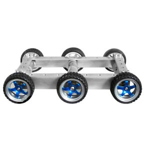 Six wheel Drive Smart Car Chassis 6wd Car Tracking Obstacle Avoidance Robot