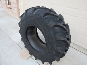 Two 18 4x24 Tractor Tires 18 4 24 18 4x24