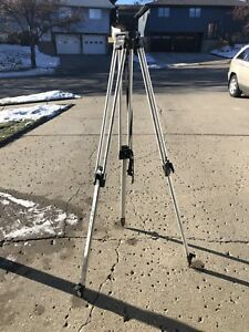 Berger Aluminumquick Clamp Survey Contractor Tripod For Transit Laser Stand 02