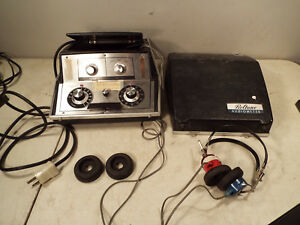 Beltone 9 d Portable Audiometer Hearing Tester Bundle W Headset And Case Works