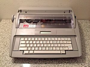 Brother Sx 4000 Electronic Lcd Display Typewriter With Dictionary Tested Working