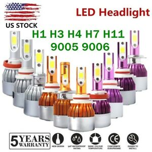 H4 H7 H11 9006 9005 H1 H3 Led Kit Headlight 100w 20000lm 6000k Fog Light Bulbs