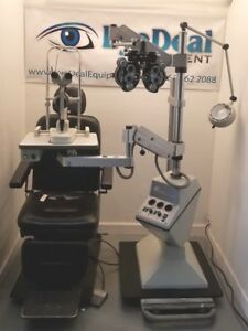 Topcon Lane Package Chair stand Slit Lamp Phoroptor Acuity Panel