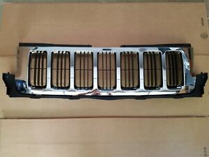 2011 2013 Jeep Grand Cherokee Front Bumper Chrome Grille Upper Laredo Limited