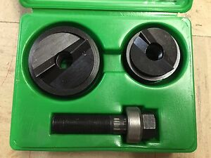 New Greenlee 7237bb Slugbuster Knockout Punch Set Nos