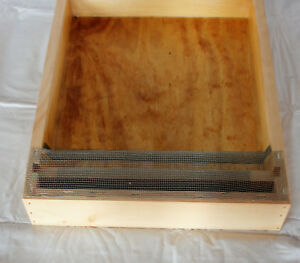 Miller Hive Top Feeder 10 Frame Pine Langstroth Beehive Free Shipping