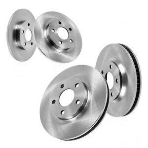 Front And Rear Brake Rotors For 1999 2000 2001 2004 Discovery Series Ii