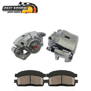 Front Oe Brake Calipers Pair Ceramic Pads For 2006 2007 Chevy Hhr