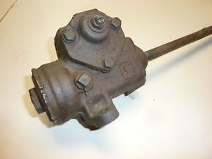 1958 Chevrolet Impala Belair Manual Steering Gear Box Assembly Rat Rod Hot Rod