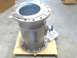 16 Krohne Optiflux 4000 Cl150 Magnetic Flowmeter Et pfa Lined W Cert New 2013