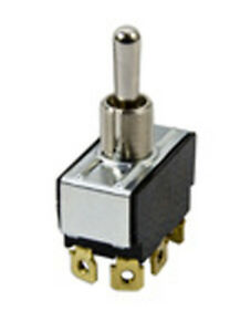 Mcgill 01210004n Toggle Switch Dpdt Momentary