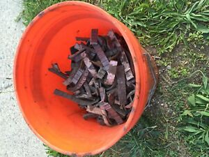 All Lead Stick-On Wheel Weights 10 Lbs Used.