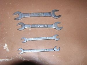 Snap On Ignition Wrenches Set Of 4 Open End Free Shipping